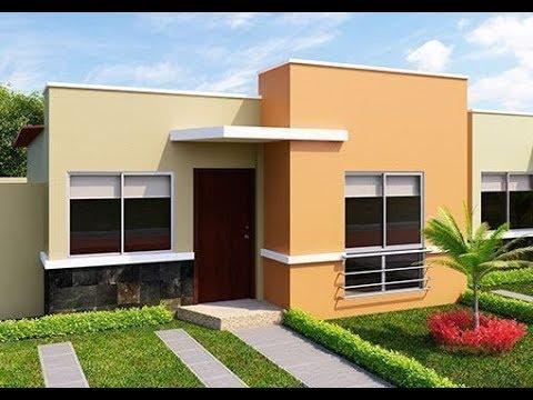 Fachadas de casas sencillas y modernas youtube for Fachadas de casas bonitas y economicas