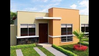 Fachadas de casas sencillas y modernas YouTube