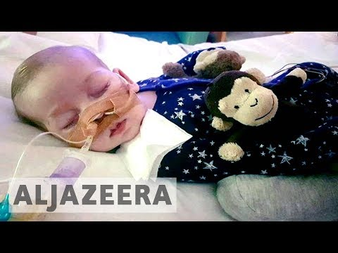Al Jazeera English: Legal battle to send terminally ill UK baby to US for treatment ends