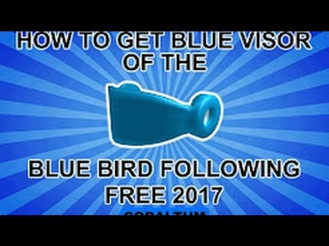 How To Get The Awesome Cool Blue Visor For Freeroblox Promocode Expired - roblox promo code for blue visor