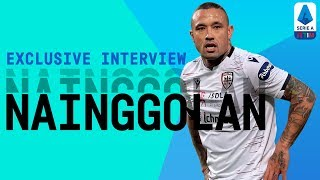 Radja Nainggolan | November's Serie A MVP | Exclusive Interview | Serie A TIM