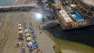 Kalyves Beach Hotel  - Aerial View