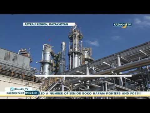 First infrastructure facilities under construction at Tengiz field - Kazakh  TV