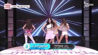 Hot Issue (4 Minute) - Momoland Nancy, Jooe, Daisy & Ahin (Finding Momoland Team A Performance)
