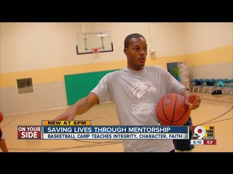 Man starts basketball camp to bring Cincinnati youth out of 'negative culture'
