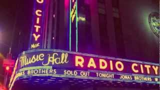 Jonas Brothers - Radio City Music Hall - 10/11/12