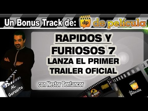 RAPIDOS Y FURIOSOS 7 - analisis del primer trailer