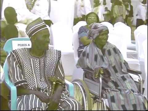 NUIT D'HONNEUR AUX PERES SPIRITUELS AU BURKINA FASO
