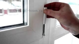 Провисло пластиковое окно как отрегулировать - moj-house.ru