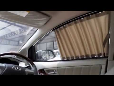 How to install car curtain by NAPP