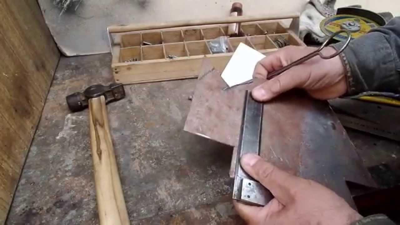 Как сделать угольник своими руками