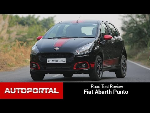 Fiat Abarth Punto Test Drive Review - Auto Portal