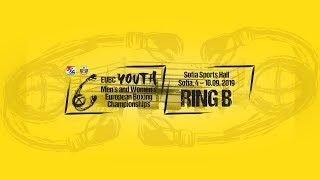 EUBC Youth European Boxing Championships SOFIA 2019 Semifinals Ring B
