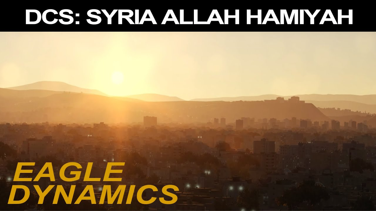DCS: SYRIA ALLAH HAMIYAH TRAILER - YouTube