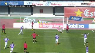 Festival Jonathan Pereira RCD Mallorca 1 - Valladolid 5. Liga Adelante 14/15