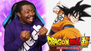 THE NEW DRAGON BALL SUPER SUPER HERO 2022 MOVIE HAS ME EXCITED!!! screenshot 1
