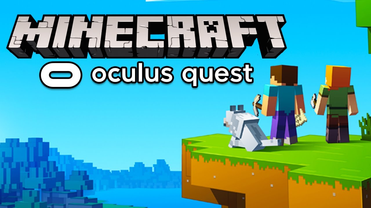 How To Play Minecraft On Oculus Quest UPDATED  Virtual Desktop & Oculus  Link