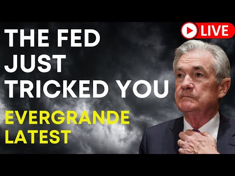 What the FED Just Did! Evergrande Missed Bond Payment? [live Q&A]