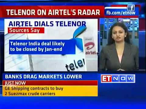 Bharti Airtel In Talks With Telenor To Buy India Business