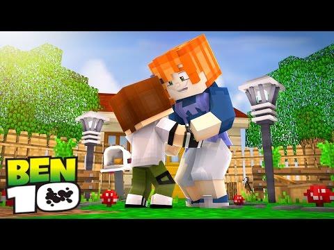 Minecraft: WHO'S YOUR LOVE? - BEBÊ BEN 10 BEIJOU A GWEN NA BOCA?!