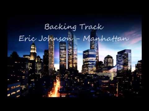 Eric Johnson Manhattan guitar backing track