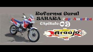 Como restaurar uma NX350 - Sahara por Flaviano - parte 09