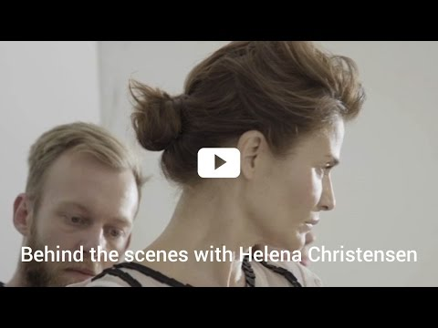 Beauty tips by Helena Christensen