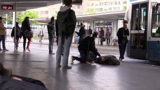 What happens if you collapse in public in Switzerland