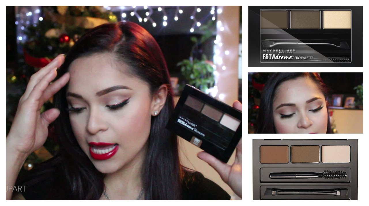 a5b63a77c43 Review Maybelline Brow Drama Pro Palette + DEMO (ENGLISH) - YouTube