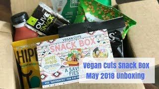 Vegan Cuts Snack Box (May 2018) Unboxing {Vegan & Cruelty-Free}