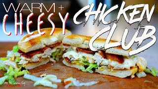 Best Warm Cheesy Bacon Chicken Club recipe  SAM THE COOKING GUY