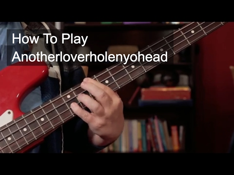 'Anotherloverholenyohead' Prince Bass and Guitar Lesson