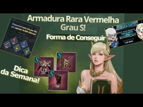 Lineage 2 Revolution: Armadura Vermelha ! Dicas + Data de lançamento do Server BR - Omega Play