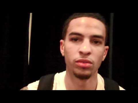 Tyler Honeycutt NBA Draft Interview at Chicago Combine w/ TheHoopsReport.com