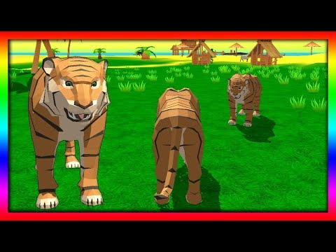 Видео Симулятор тигра играть онлайн