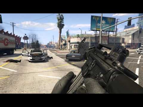 GTA 5 PC MODS  - M16A2 Rifle [Metallic|HQ]