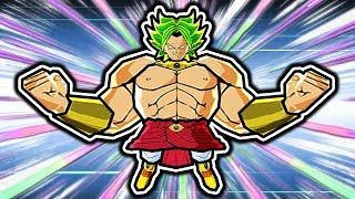 So I Made Broly Swole in Dragon Ball Fusions 3DS...