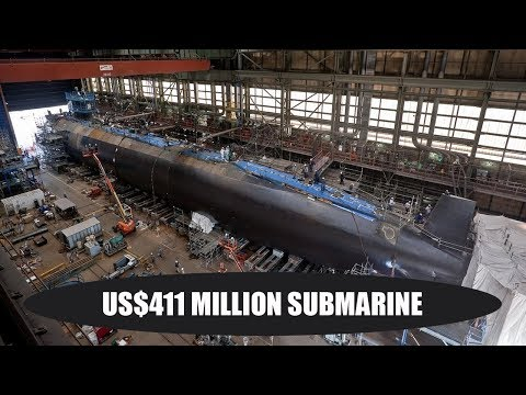 Chinese shipbuilder starts work on US$411 million submarine for Thai navy