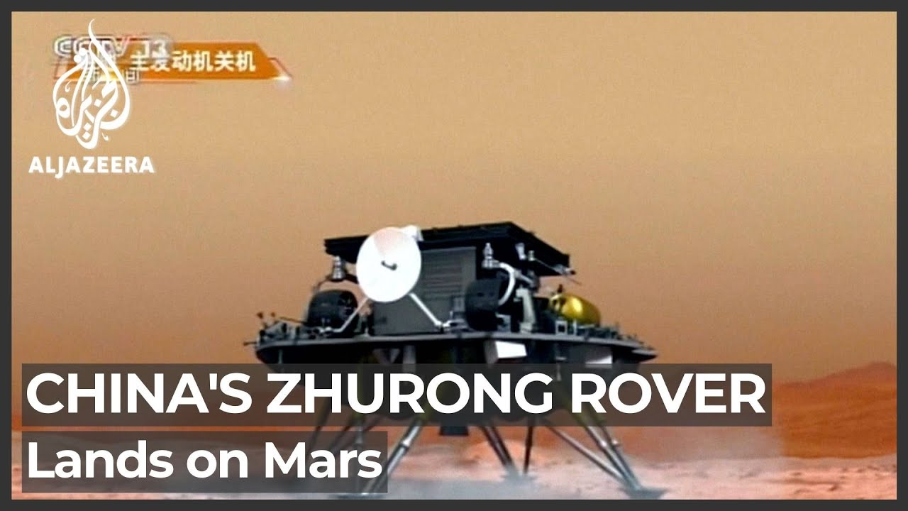 Cina Menjadi Negara Kedua Setelah Amerika Serikat yang Berhasil Mendarat di Mars