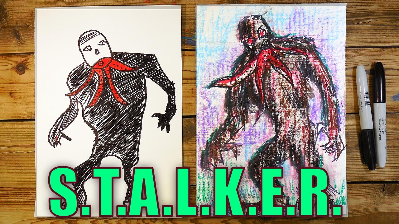 How to draw Stalker