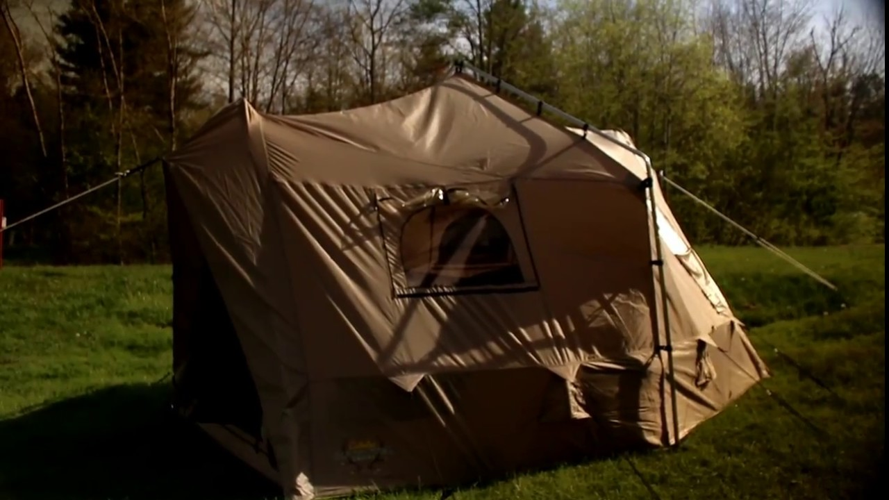 cabelau0027s big horn tent & cabelau0027s big horn tent - YouTube