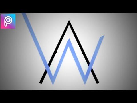Desain Logo Alan Walker | Picsart Tutorial Indonesia