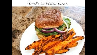 Sweet And Sour Chicken Sandwich