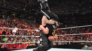 The Undertaker crashes Brock Lesnar