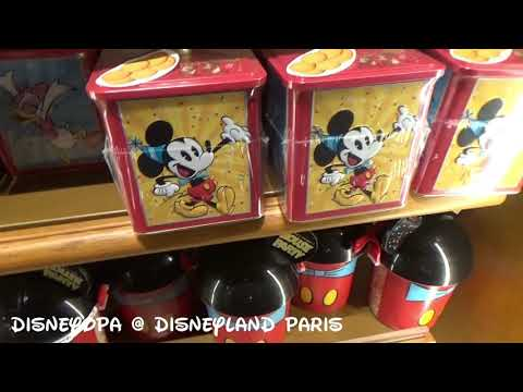 Disneyland Paris New Century Notions Shop 4/4 ALL PRICES DisneyOpa
