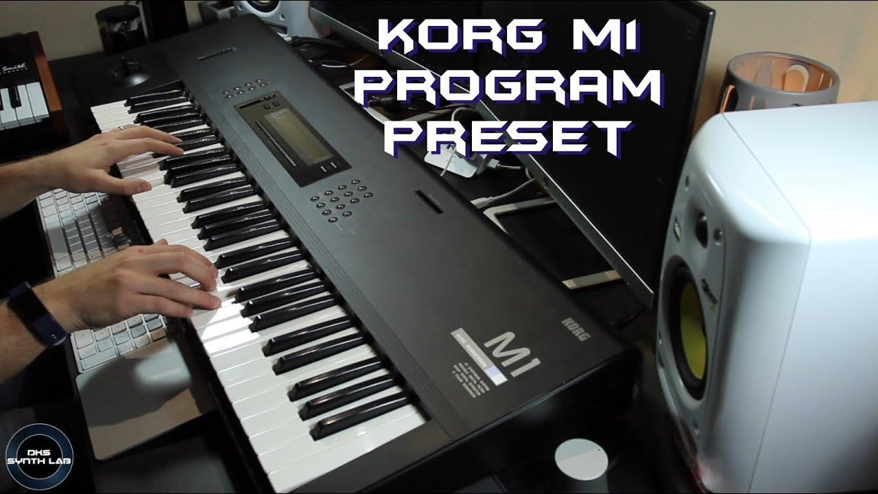 Korg M1 Program Presets