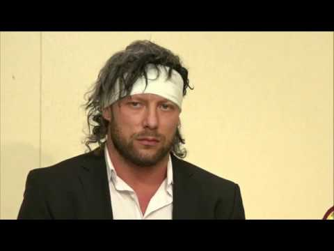 Kenny & Jericho - WRESTLE KINGDOM 12 IN TOKYO DOME: Press Conference