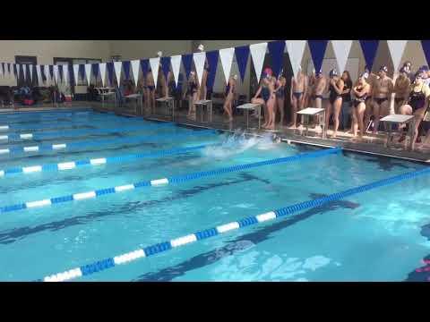 Women's 200 Medley Relay - Illinois Quad Meet 2017