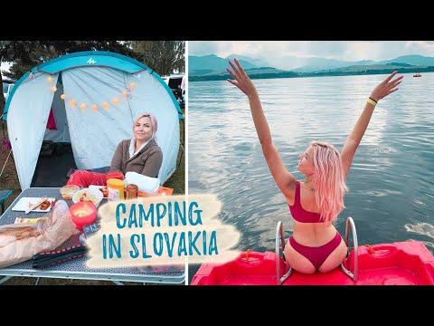Exploring Slovakia: Liptovská Mara Lake, Camping/traveling In Slovakia, Europe Travel  (Couple Vlog)