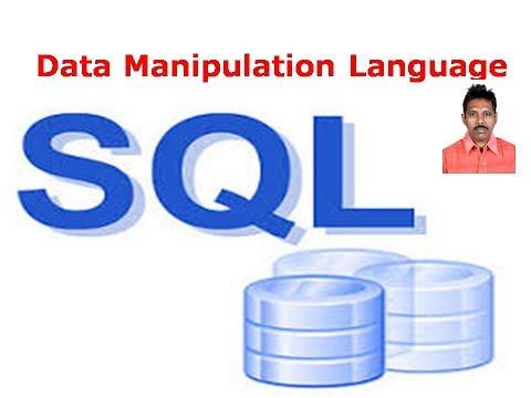 SQL Tutorial 6: Data Manipulation Language
